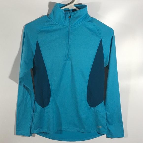 Champion Jackets & Blazers - Champion Womens Semi Fitted Pullover 1/4 Zipper